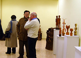 Exposición en Palencia - Caja Laboral 2010