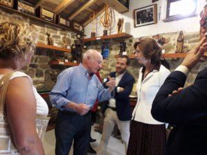 Visita de Isabel Oliver, Secretaria de Estado de Turismo, el 17 de septiembre de 2019